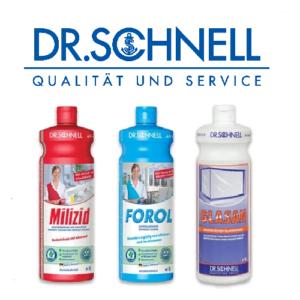 Профессиональные моющие средства Dr.Schnell (Германия)
